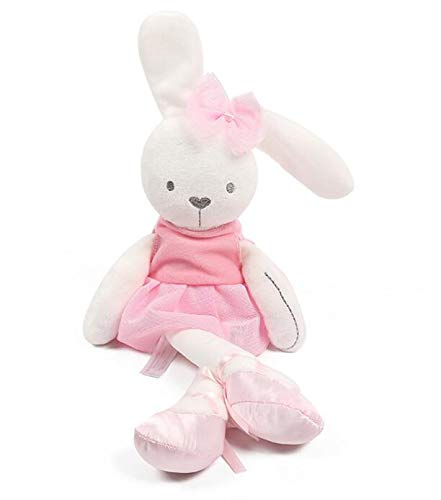Coiny Bebe Baby Soft Plush Sleeping Mate Stuffed Plush Animals Toys G0306 Pink Rabbit