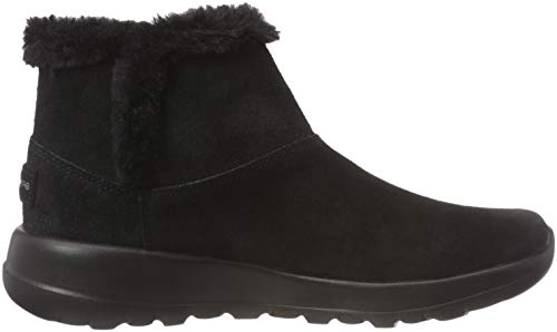 Mujer Up para Schwarz The go Botines Bbk On Bundle Skechers w40ITaqI