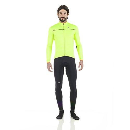 Giordana 2017/18 Men's Fusion Light Weight Cycling Jacket - GICW16-LWJK-FUSI (Yellow Fluo - (Giordana Cycling Jacket)
