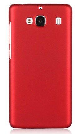 ImagineDesign Hard Case Matte Back Cover for XIAOMI MI REDMI 2 / PRIME  Maroon and Wine Red