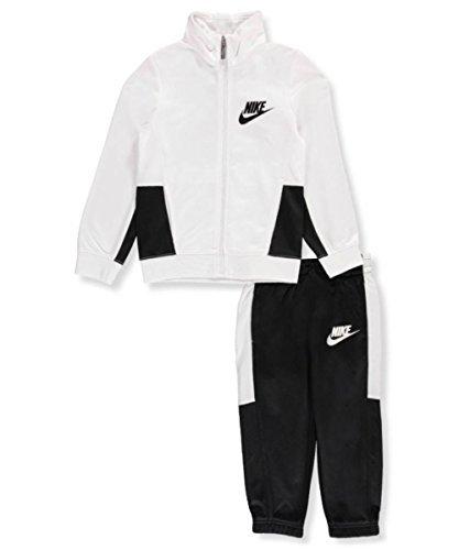 Nike Little Boys' 2-Piece Tricot Tracksuit (Sizes 4-7) - black, 4