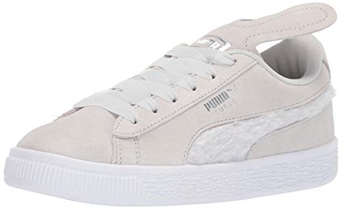 Easter Shoes For Toddlers - PUMA Girls' Suede Easter Sneaker, Glacier