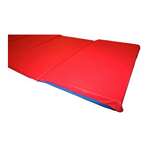 Kindermat Basic Rest Mat With Pillow 5 8 Inch Size Red