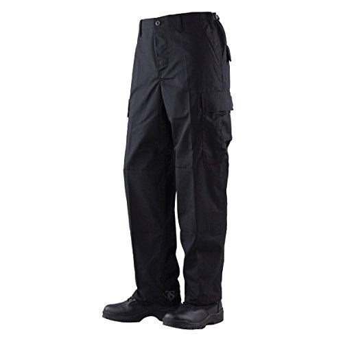 TRU-SPEC Men's Rip Stop BDU Pant - 5XL - Black