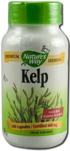 Nature's Way - Kelp 660 mg.