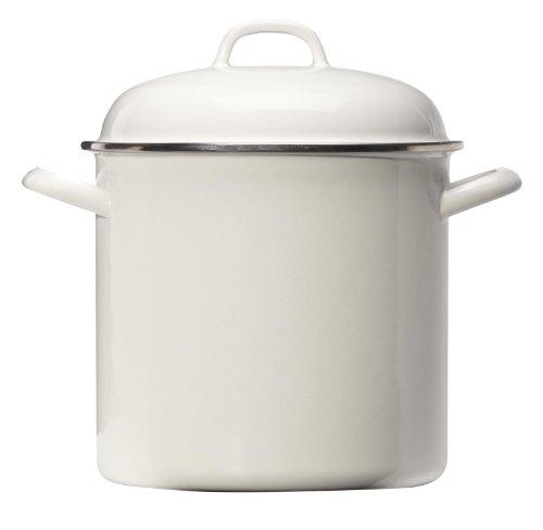 Grande Epicure 5271-2 Heavy Gauge Stock Pot, 8-Quart, White