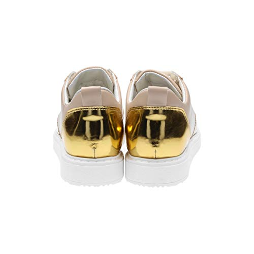 Beige Zapatillas Cuero DERBY42 Mujer L4k3 wgqCFEpU