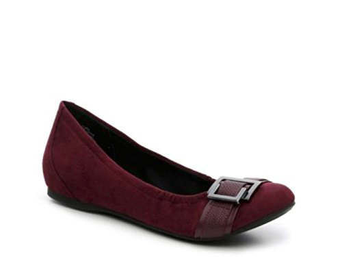 Closed Abella Womens Toe Clara Burgundy waZq0xO