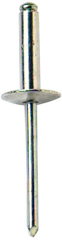 Bulk Hardware BH02797 Wide Flange Alloy Pop Rivet, 4.8 x 13mm (3/16 inch x 1/2 inch) - Pack of 50