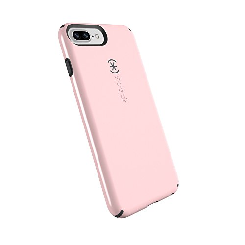 Speck Products CandyShell Cell Phone Case for iPhone 8 Plus/7 PLUS/6S Plus/6 Plus - Quartz Pink/Slate Grey