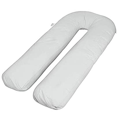 456843d0d7f90 Image Unavailable. Image not available for. Colour: Extra Fill 9 Ft Comfort  U Pillow Body Back Support Nursing Maternity ...