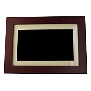 Insignia - 10 Widescreen LCD Digital Photo Frame - Espresso