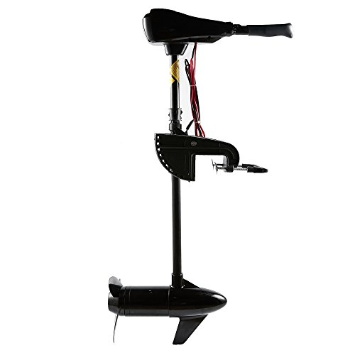 Cloud Mountain 36 40 46 50 55 60 86 LBS Thrust 8 Speed Electric Trolling Motor for Fishing Boats Saltwater Transom Mounted with Adjustable Handle
