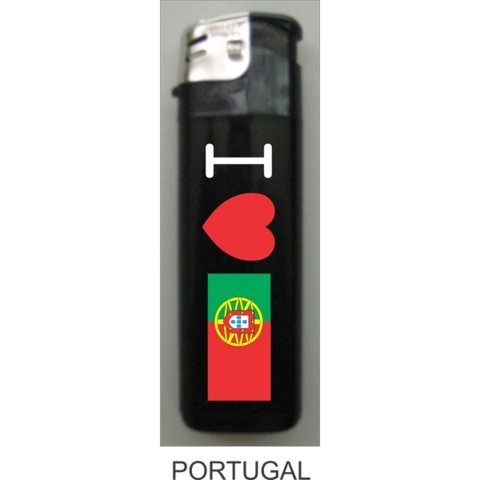(Portugal Love Flag Lighters - 3 Pieces)