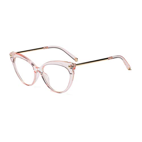 Pink Ymtp Transparent Retro Frames Glasses Eye clear Clear ...