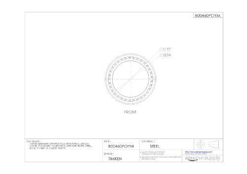 Timken-M348449-Tapered-Roller-Bearing-Single-Cone-Standard-Tolerance-Straight-Bore-Steel-Inch-97500-ID-25000-Width