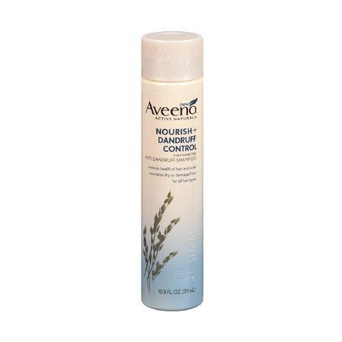 Aveeno Soins des cheveux Nourrir plus pellicules de contrôle shampooing, 10,5 Fluid Ounce