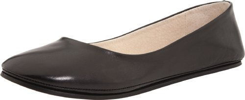 Sole French Leather Flats - French Sole FS/NY Women's Sloop, Black Nappa, 10 M US