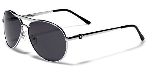 Polarized Men's Women's Round Aviator Pilot Glasses Driving Golf Fishing Sunglasses SMALL-MEDIUM - Sunglasses Small Aviator