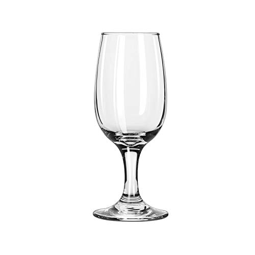 Libbey Glassware 3766 Embassy Wine Glass, 6 oz.-12 oz. (Pack of 36)