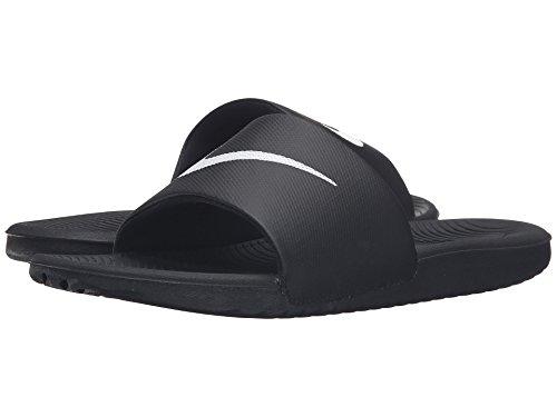 マオリ曲線技術(ナイキ) NIKE メンズサンダル?靴 Kawa Slide Black/White 14 (32cm) D - Medium