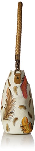 ANUSCHKA Bagaglio a mano, Floating Feathers Ivory (multicolore) - 608-FFT-I