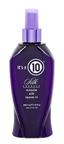 It's a 10 Silk Express Miracle Silk Leave-in Spray - 10 ounc