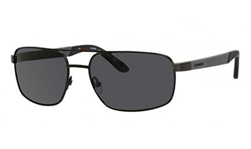 Carrera 8006/S Sunglass-1G0P Gunmetal (Y2 Gray Polarized Lens)-59mm