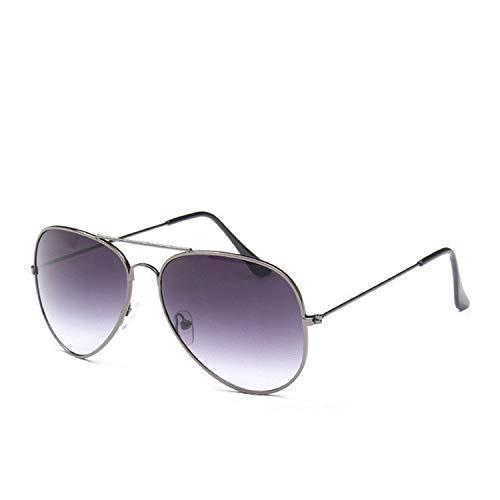 Classic Fashion Sunglass Women Multi Gradient Sunglasses Men Driving Mirror Pilot Glasses,Gun Gray-Gray (Sonnenbrille Lanyard)