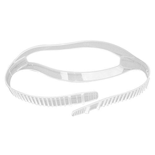 Storm Clear Silicone Mask Strap Great for Scuba Divers and Water Sports by Storm (Clear Silicone Mask Strap)