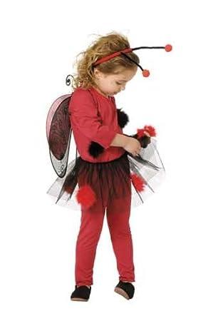 Disfraz de mariquita bebé. Talla 1/2 años.: Amazon.es: Juguetes y ...