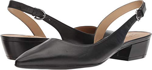 (Naturalizer Women's Banks Black Leather 9.5 AA)