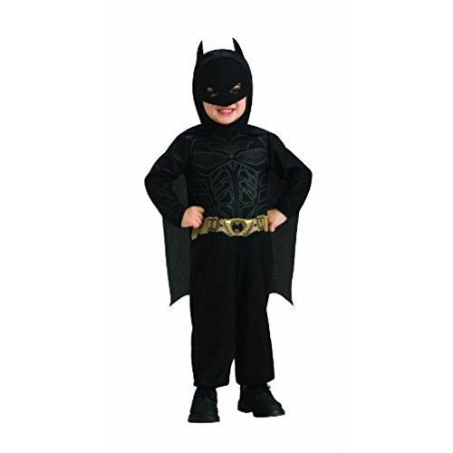 Batman Dark Knight Rises Kids Costume Size: Toddler (2 - 4) (Batman Black Knight Rises)