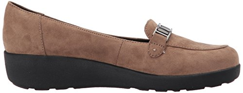 Easy Spirit Womens Kallye2 Mocassino Slip-on In Tessuto Taupe