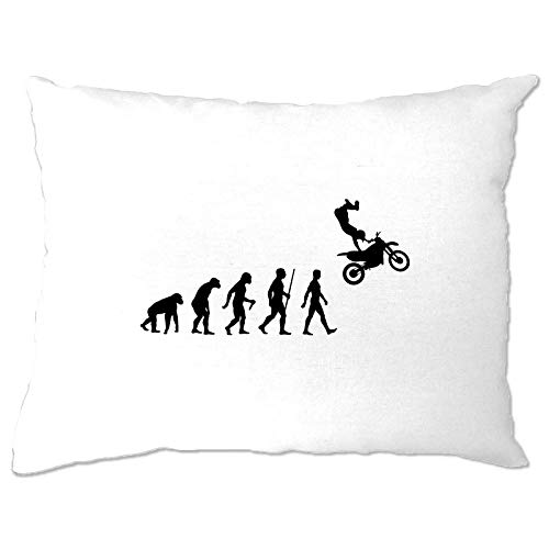 Georgia Barnard Sports Pillow Case The Evolution of Motocross Jumping Speedway Dirt Bike Jumps 12