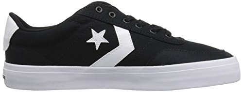 Negro Converse Courtlandt Black Adulto Black White Lifestyle Ox Zapatillas 001 Unisex xYqwSYC6