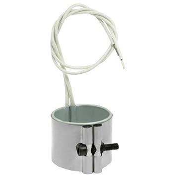 110V 220W 50 x 45 mm con inyección de moldes elemento de calefacción del calentador de banda: Amazon.es: Bricolaje y herramientas