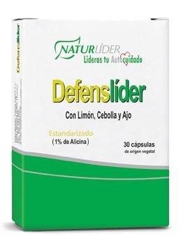 DEFENSLIDER STD 30 Vcaps - LIMON CEBOLLA Y AJO: Amazon.es: Salud y cuidado personal