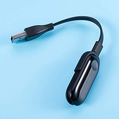 Moncayo Accesorios Cable de Carga USB para Xiaomi Mi Band 3 - Repuesto Cargador