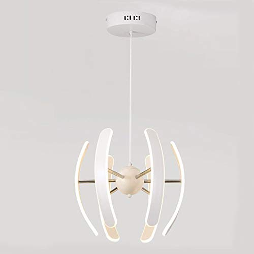TopDeng LED Creative Acrylic Pendant Lights, 55W Flush Mount Modern Ceiling Lighting Fixture-Warm -