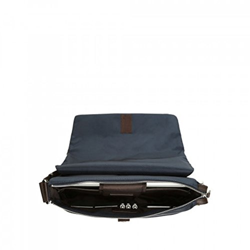 Moro Blu Rettangolare 912734 Messenger Cerniera Bros amp; Testa Spalding FRC8qw