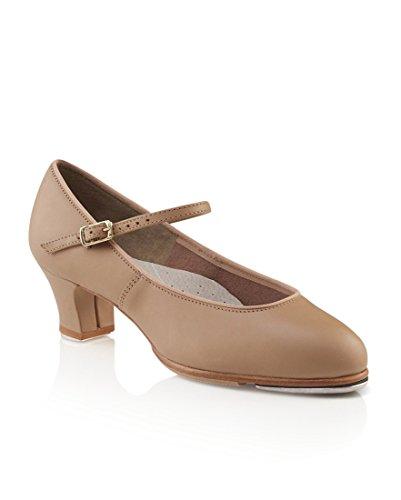 Capezio Women's Tap Jr. Footlight Tap Shoe,Caramel,8 W US