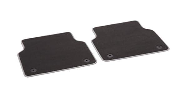 Rear Genuine Audi 4H0061276MNO Premium Textile Floor Mat