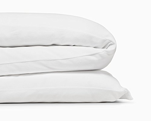 Calvin Klein Home Modern Cotton Julian Duvet Cover, Queen, White Calvin Klein Standard Blanket