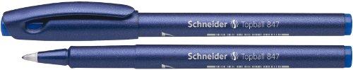 Schneider Topball 847 Blue 0.5 mm Disposable Rollerball Pen