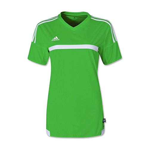 Adidas MLS 15 Match Womens Soccer Jersey S Rave Green/White