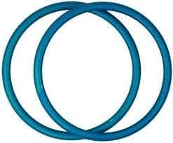 Best Baby Original Sling Rings, Aluminum and Nylon Rings for Making Ring Slings (Small, Turquoise)