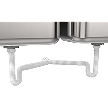 Pvc End Outlet Kitchen Sink Waste Direct Connect
