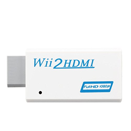 Price comparison product image SODIAL(R)Wii to HDMI converter - Scale signal to 720p and 1080p Wii || Wii to HDMI Converter