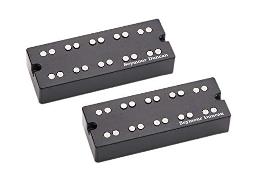 Seymour Duncan Basslines SSB-5NYC Phase II NYC Passive Soapbar 5 String Bass pickup set